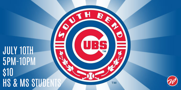Youth Night at the South Bend Cubs
