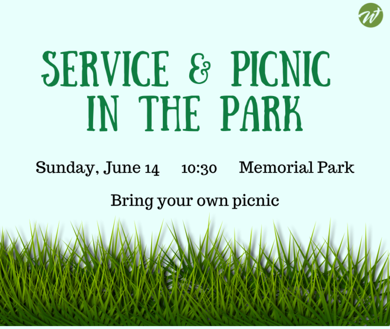 Service & Picnic in the Park